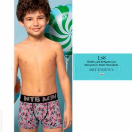 ART 158 - boxer juvenil de algodón y lycra estampado