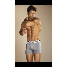 Boxer algodón y lycra liso.