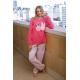 ART 4306 - Pijama manga larga con pantalon estampado